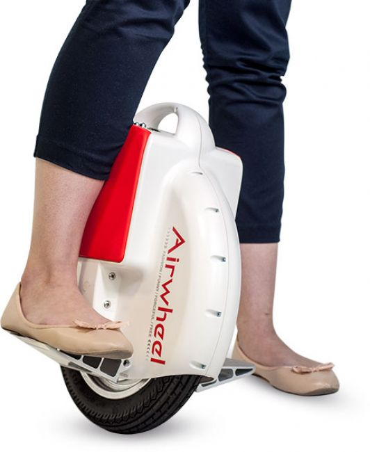 Airwheel X3 reposes pieds