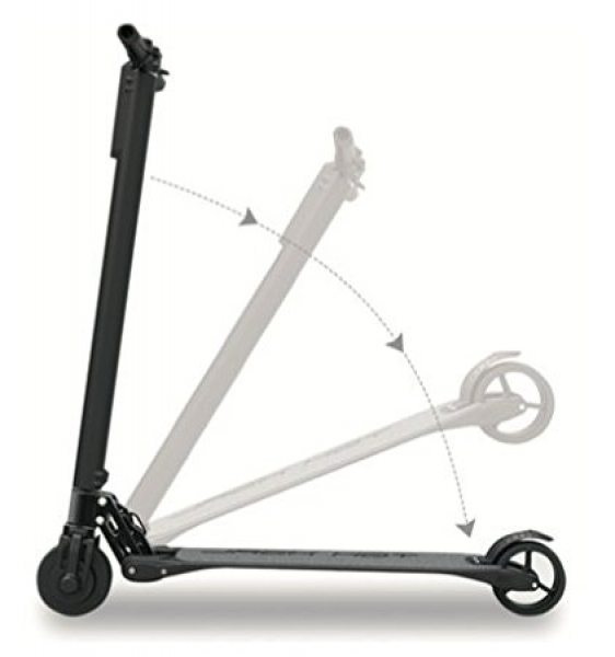trottinette électrique pliable jack hot light