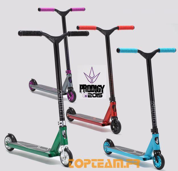 toutes les couleurs freestyle Blunt prodigy S3