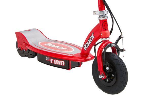 trottinette electrique Razor E100 rouge