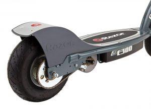 roue gonflable trottinette razor e300