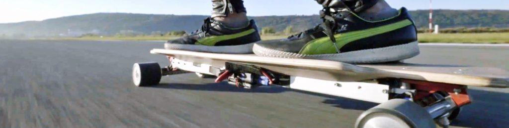 skateboard electrique vitesse