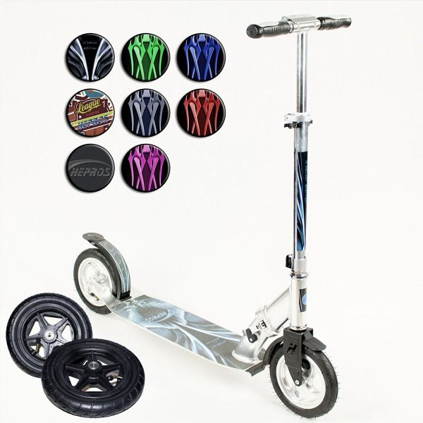 trottinette adulte 120 kg Hepros XXXL Ultra Air