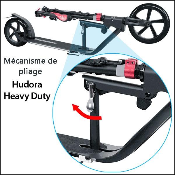 mecanisme de pliage Hudora heavy duty2