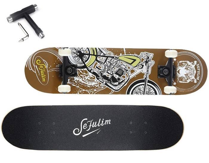 Skateboard SEFULIM en Promo -33%